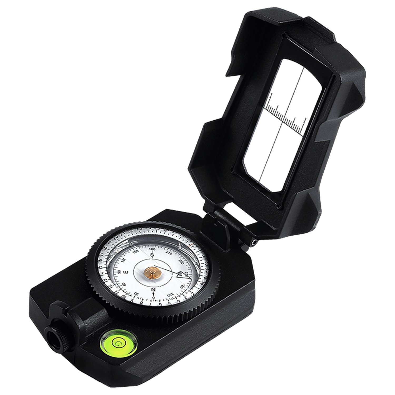 Eyeskey Multifunctional Military Metal Sighting Navigation Compass with Inclinometer