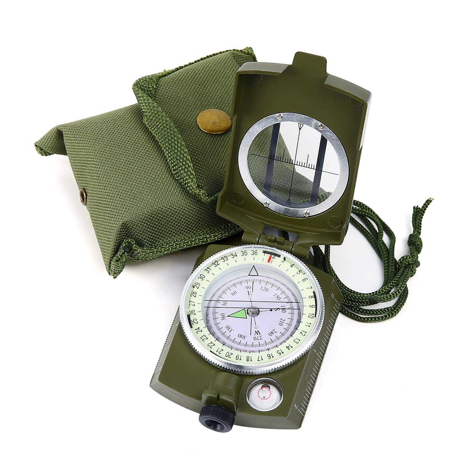 Sportneer Military Lensatic Sighting Compass