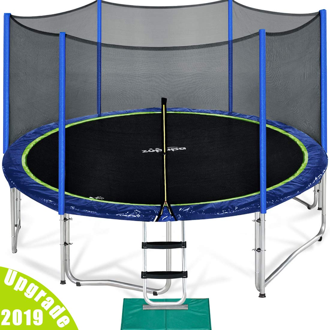 Zupapa 15 14 12 FT TUV Approved Trampoline