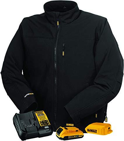2.DEWALT DCHJ060A Heated Soft Shell Jacket