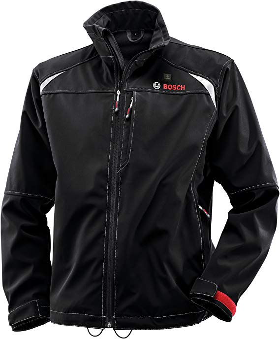 Bosch Men's 12-Volt Max Lithium-Ion Soft Shell Heated Jacket
