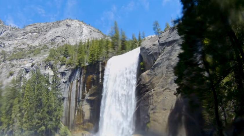 Yosemite`s Mist Trail