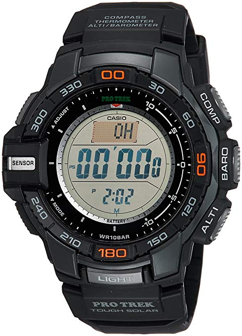 Casio Men's Pro Trek PRG-270-1 Tough Solar Triple Sensor Watch