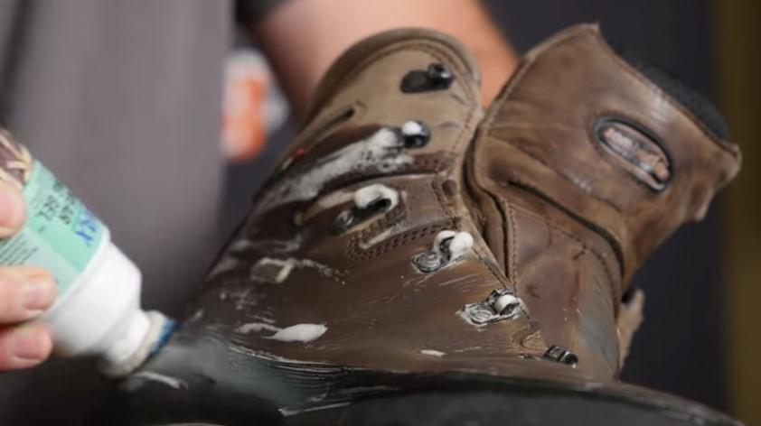 Lack of proper boot treatment