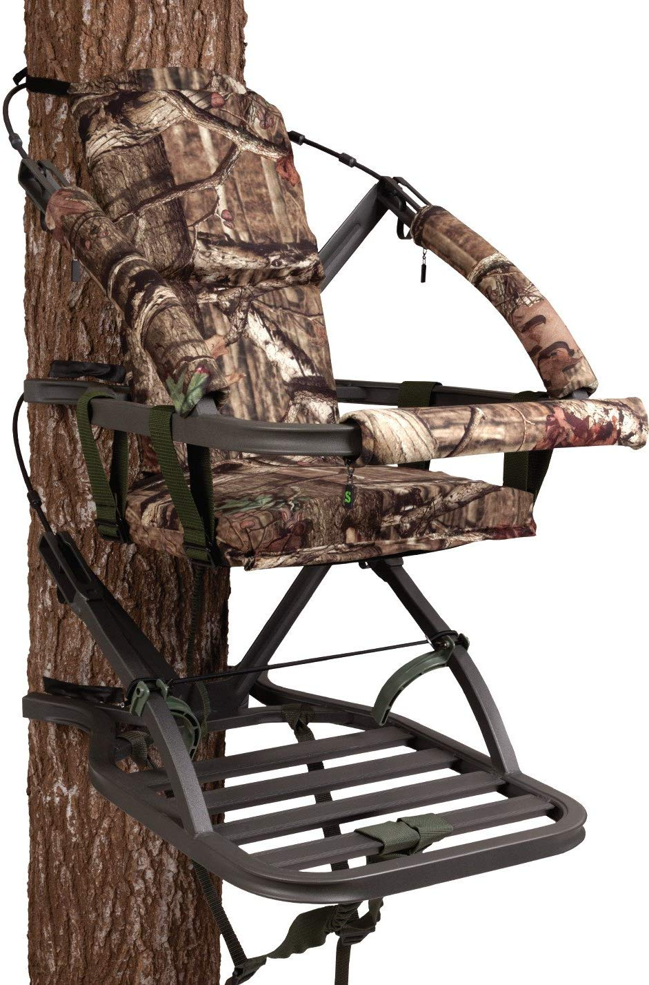Summit Tree stands Mini Viper SD Climbing Tree stand, Mossy Oak