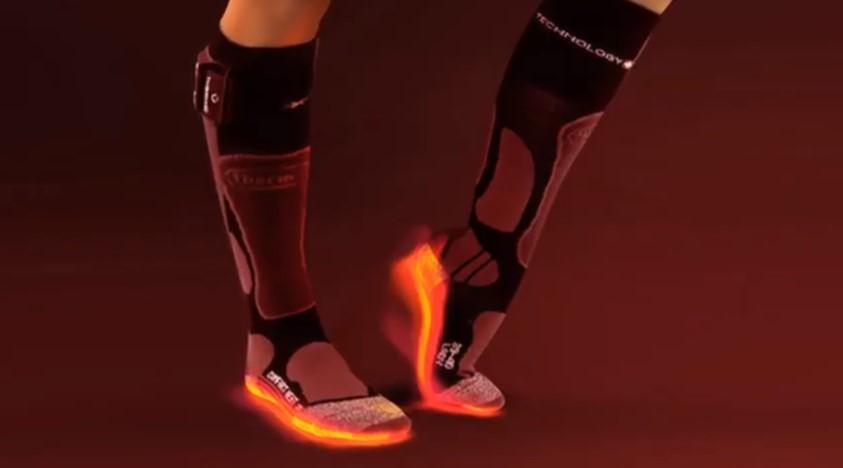 Electric Socks to keep Feet Warm While Hunting