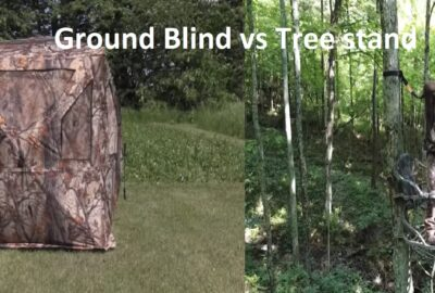 Ground Blind vs Tree Stand