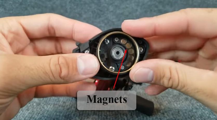 Magnetic braking system