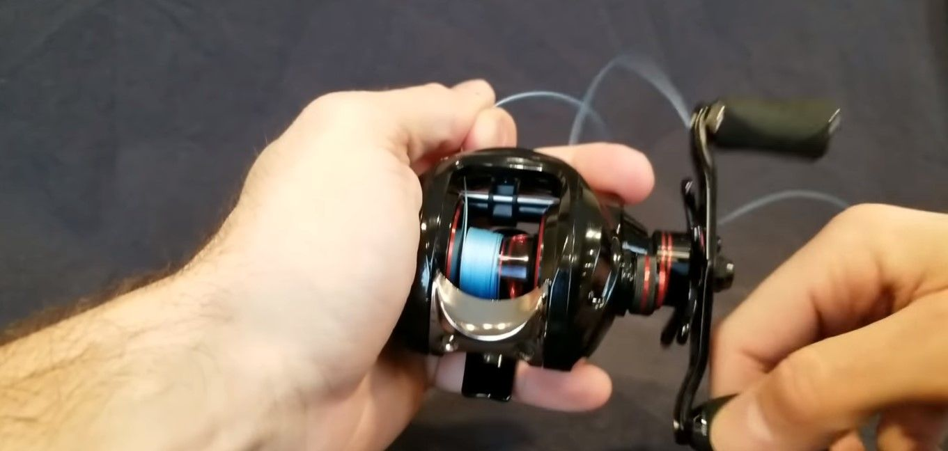 easy  to Spool Your Baitcaster Reel